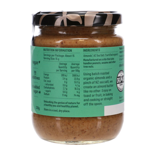Chantal Organics Almond Butter