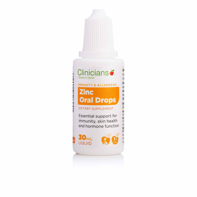 Clinicians Zinc Oral Drops