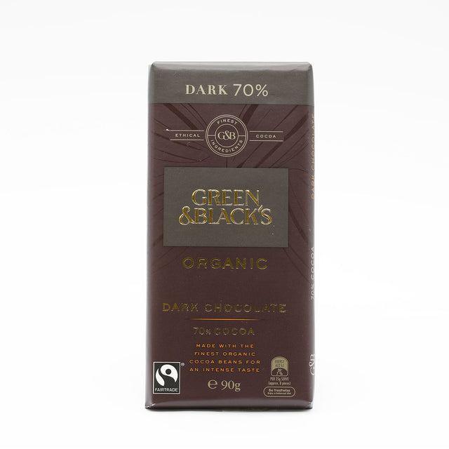 Green and Black's 70% Dark Chocolate