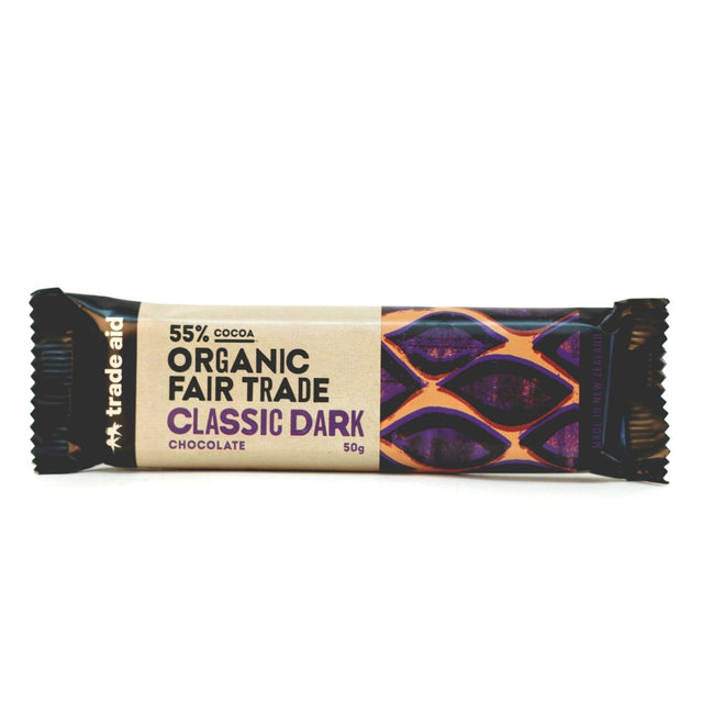 Trade Aid 55% Classic Dark Chocolate