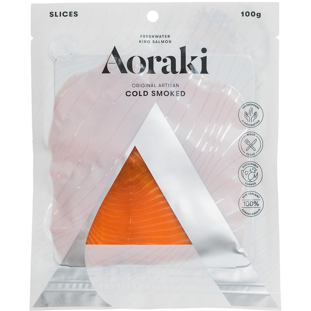 Aoraki Cold Smoked Sliced Salmon