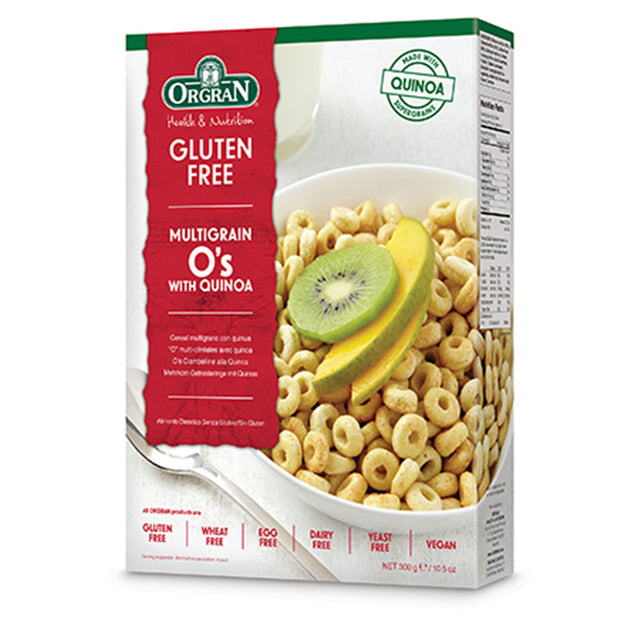 Orgran Multigrain Cereal Breakfast O's with Quinoa