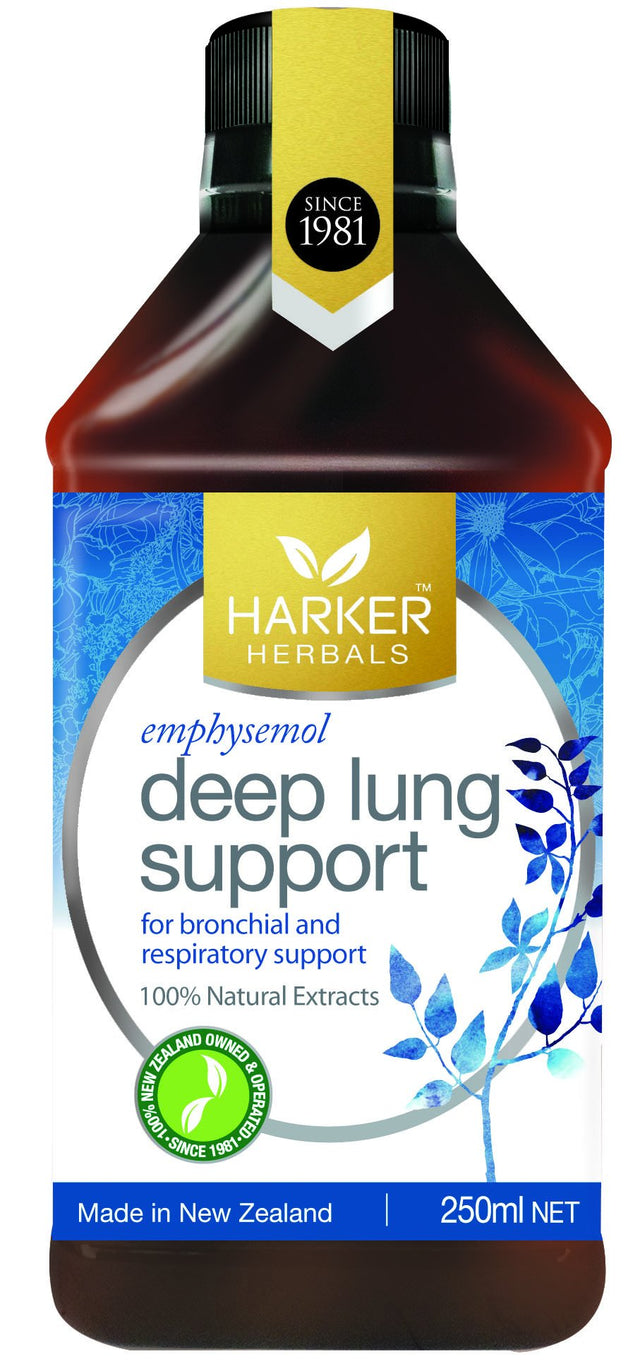Malcolm Harker Deep Lung Support