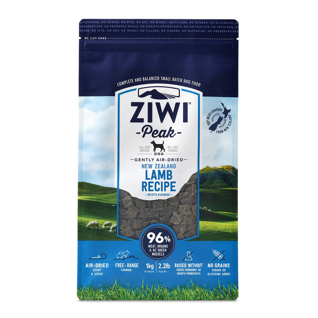 Ziwi Lamb for Dogs Air Dried