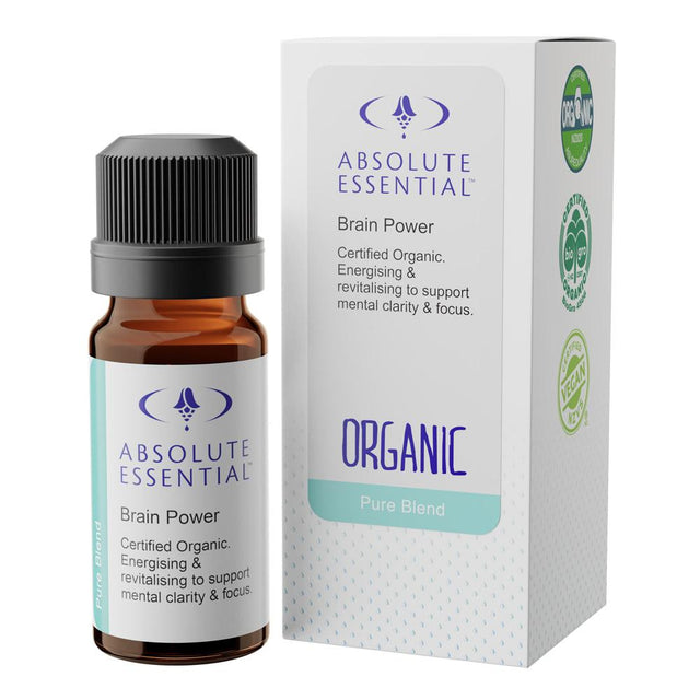 Absolute Essentials Brain Power Essential Oil