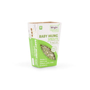 The Wright Sprouts Organic Baby Mung Bean Sprouts