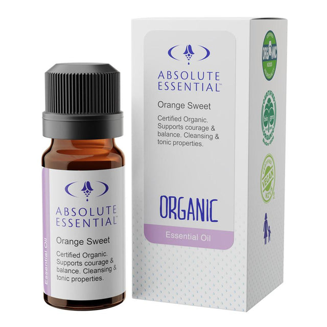 Absolute Essentials Sweet Orange Organic Essential Oil