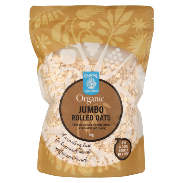 Chantal Organics Rolled Jumbo Oats