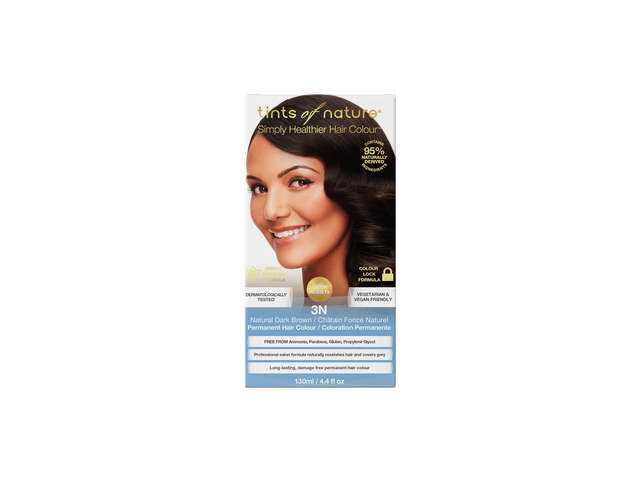 Tints of Nature 3N Natural Dark Brown Permenant Hair Colour