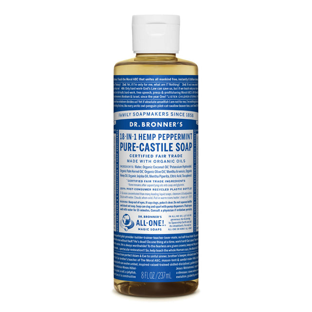 Dr. Bronner Peppermint Liquid Soap