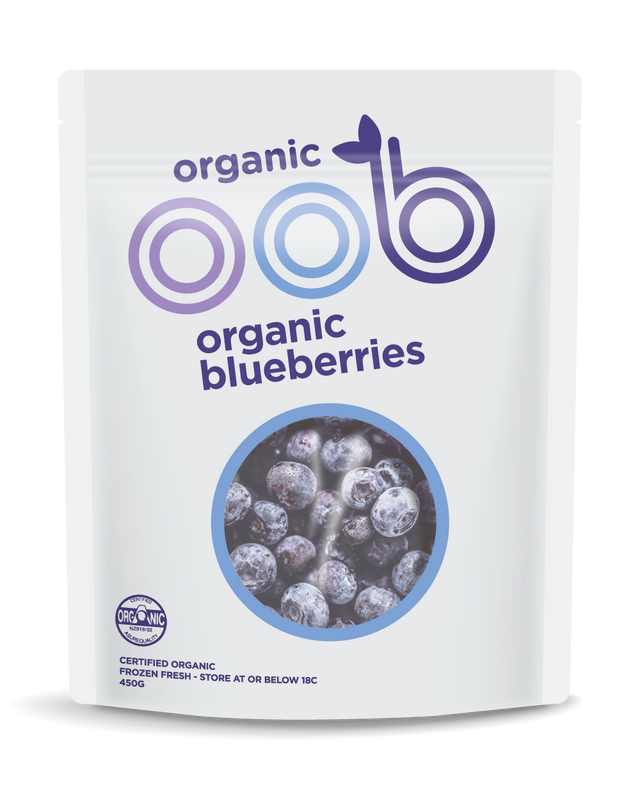 oob Organic Frozen Blueberries