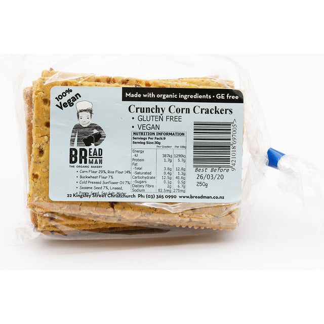 Breadman Crunchy Corn Crackers