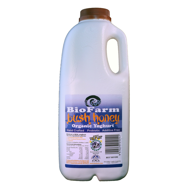 BioFarm Organic Bush Honey Yoghurt