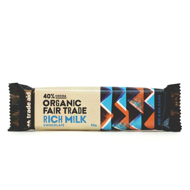 Trade Aid 40% Rich Milk Chocolate