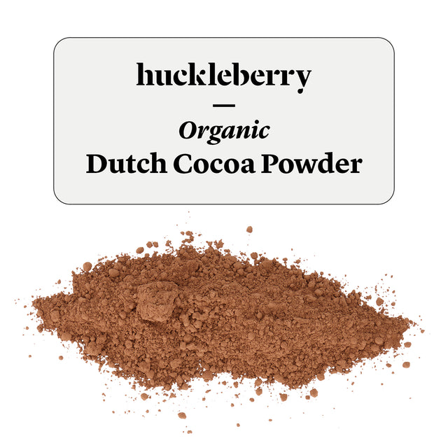 Huckleberry Organic Dutch Cocoa Powder Prepacked
