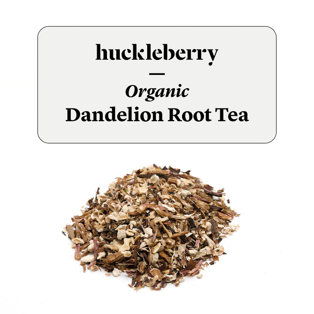 Huckleberry Organic Dandelion Root Tea Prepacked