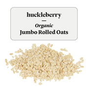 Huckleberry Organic Jumbo Rolled Oats Prepacked