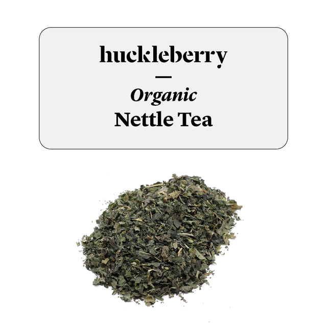 Huckleberry Organic Nettle Tea Prepacked