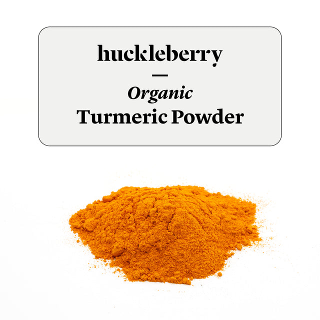 Huckleberry Organic Turmeric Powder Prepacked