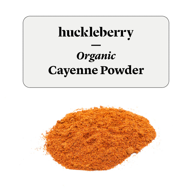 Huckleberry Organic Cayenne Powder Prepacked