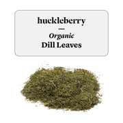 Huckleberry Organic Dill Leaves Prepacked