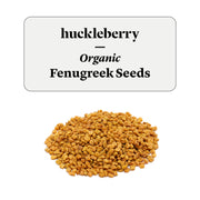 Huckleberry Organic Fenugreek Seeds Prepacked