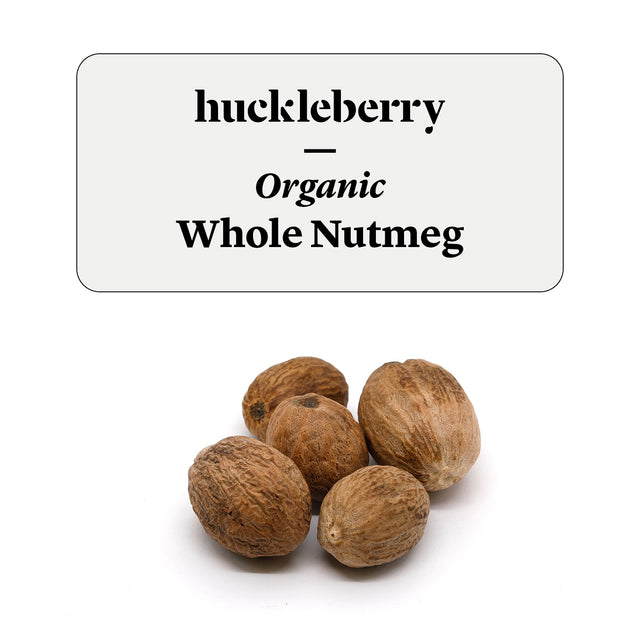 Huckleberry Organic Whole Nutmeg Prepacked
