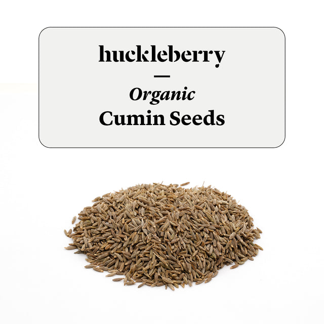 Huckleberry Organic Cumin Seeds Prepacked
