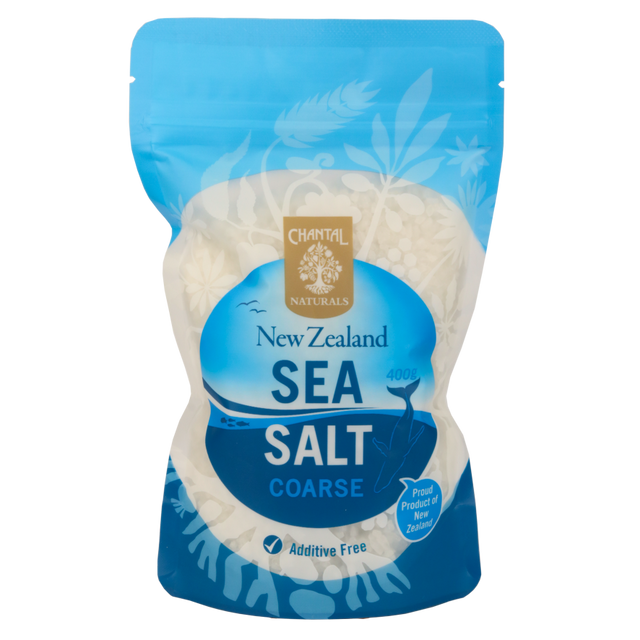 Chantal Organics Coarse Sea Salt