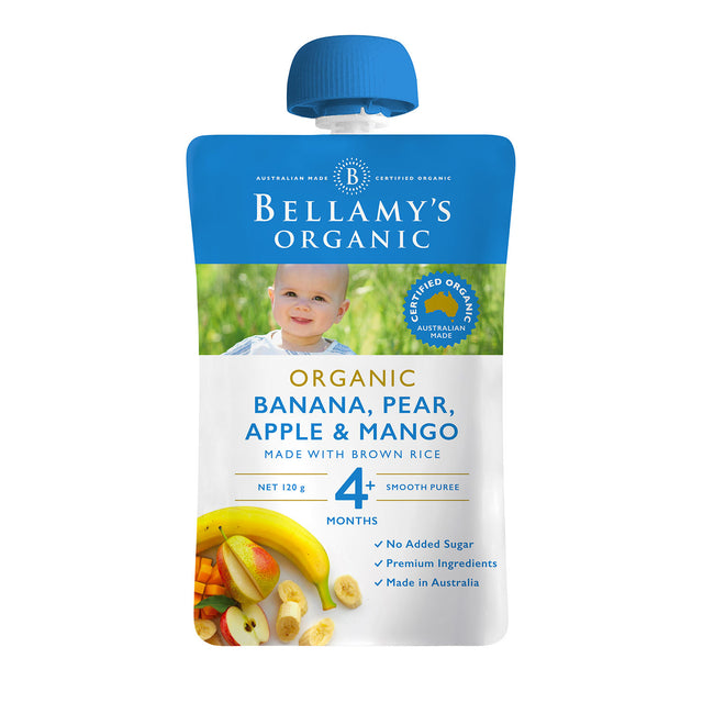 Bellamy's Organic Banana, Pear, and Mango