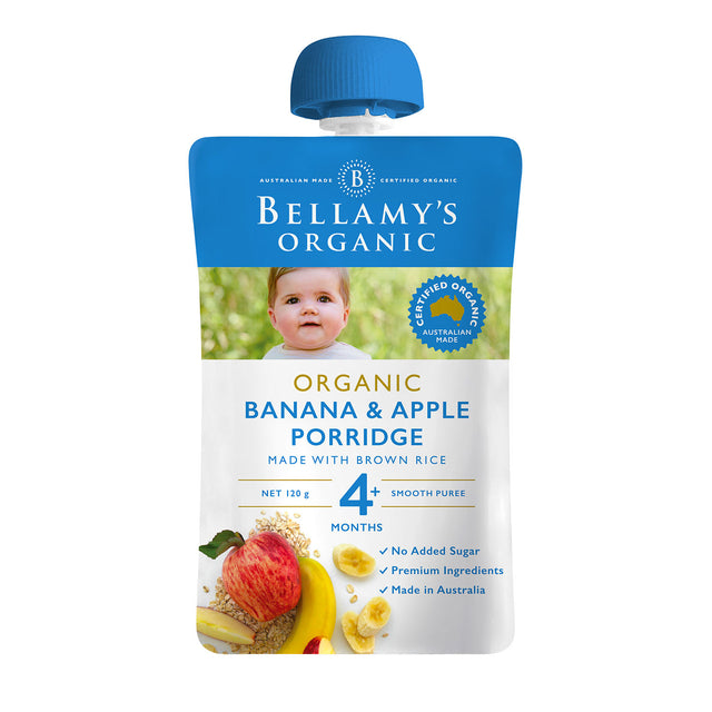 Bellamy's Organic Banana Apple Porridge
