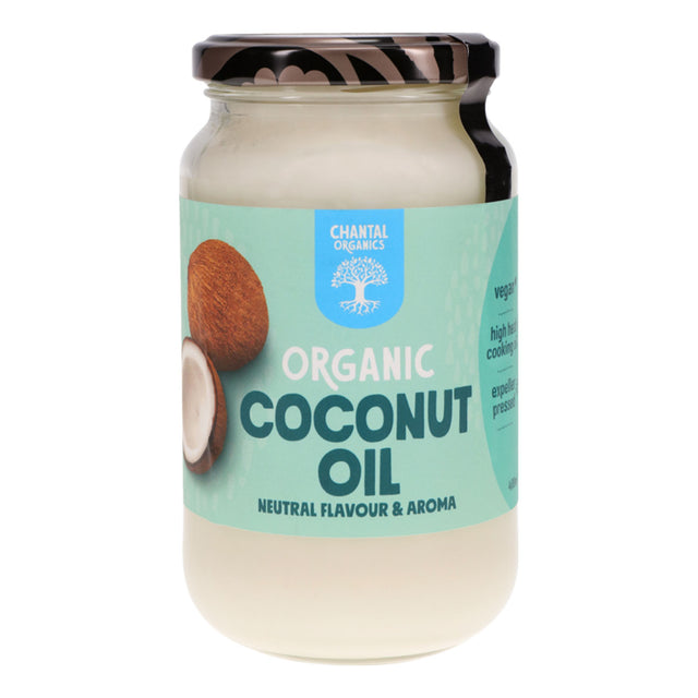 Chantal Organics Deodorised Coconut Oil