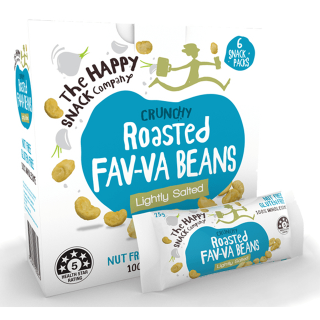 The Happy Snack Company Fava Nuts