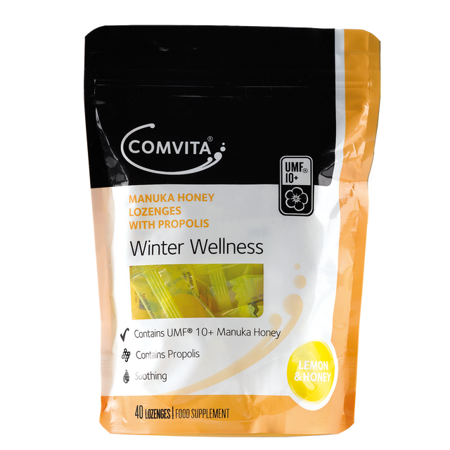 Comvita Lemon Honey Throat Lozenges 40 pack