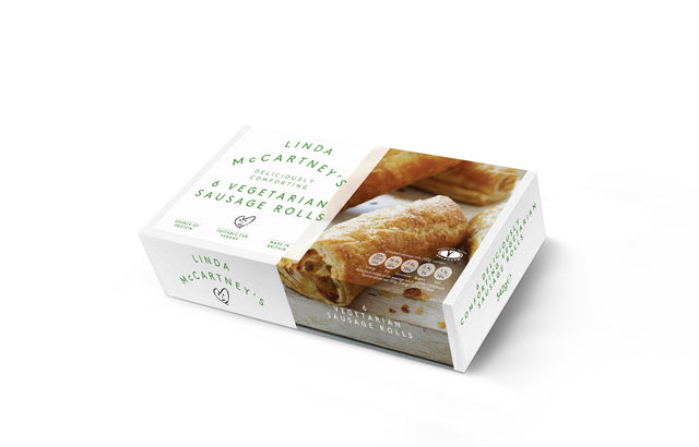 Linda McCartney Sausage Rolls 6 pack