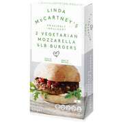 Linda McCartney Mozzarella Burgers 2 Pack