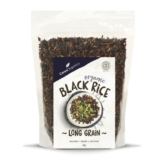 Ceres Organics Black Long Grain Rice