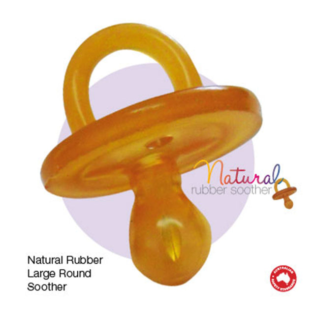 Natural Rubber Soother 6+ Months