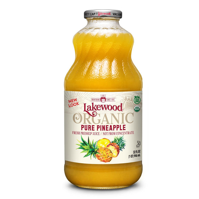 Lakewood Organic Pineapple Juice
