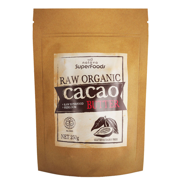 Natava Superfoods Cacao Butter