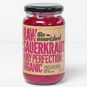 Be Nourished Ruby Perfection Raw Sauerkraut