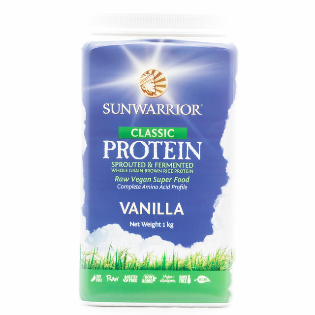 Sun Warrior Vanilla Rice Protein