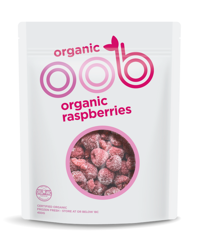 oob Organic Frozen Raspberries