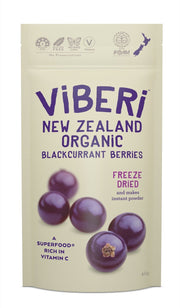 Viberi Organic Dried Blackcurrants
