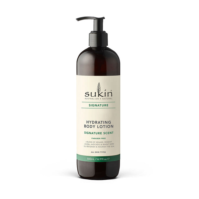 Sukin Hydrating Body Lotion Pump