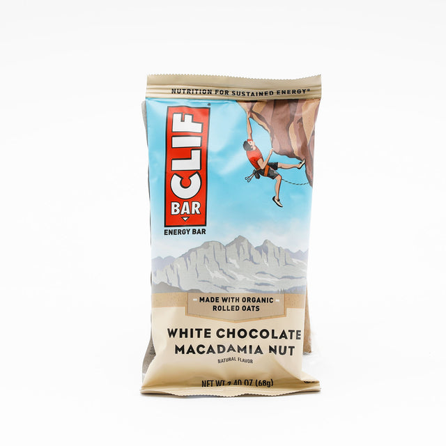 Cliff White Chocolate Macadamia Bar