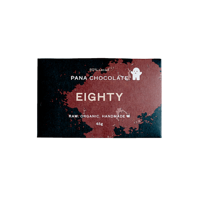 Pana Raw Eighty Cacao Chocolate