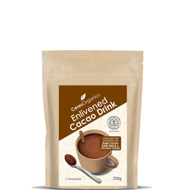Ceres Organics Enlivened Cacao Drink
