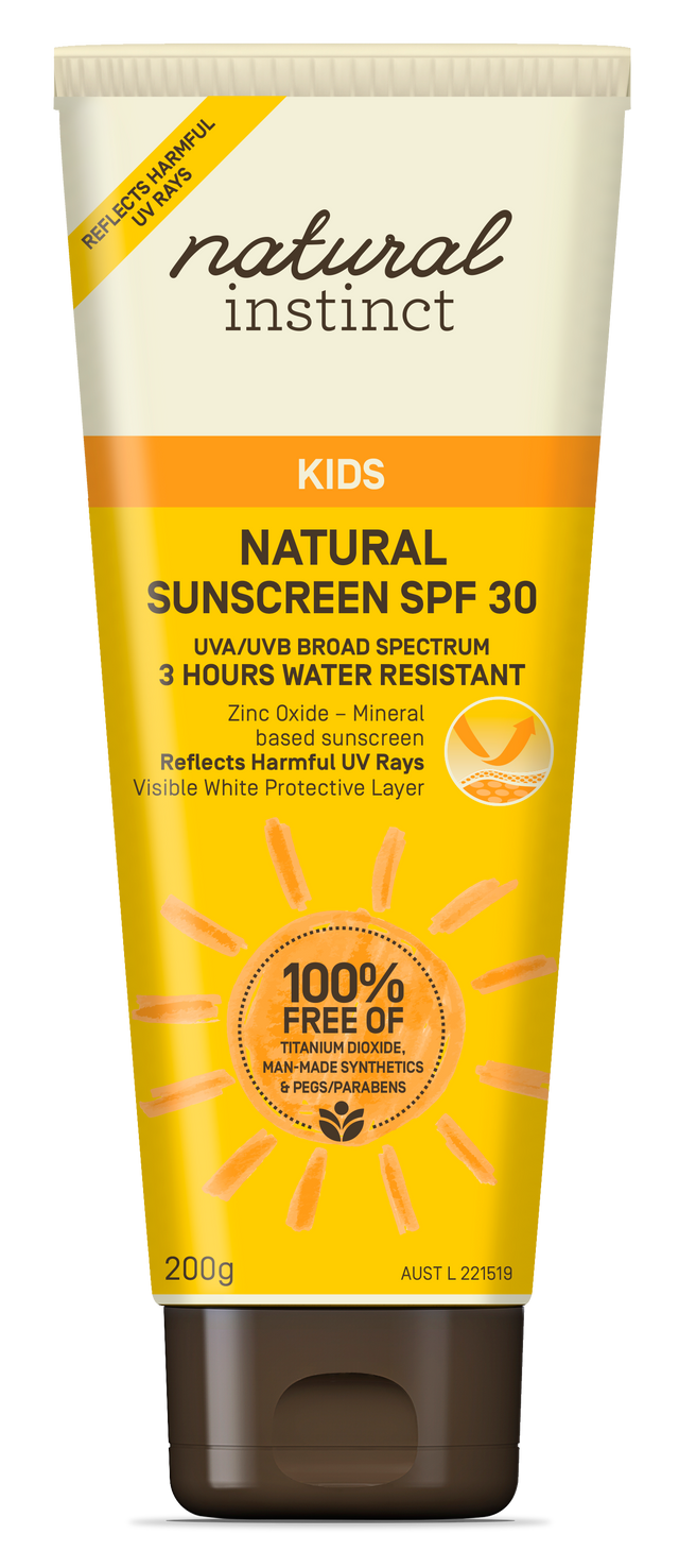 Natural Instinct Kids Natural Sunscreen SPF30