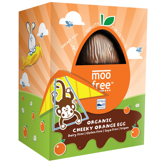 Moo Free Organic Cheeky Orange Egg